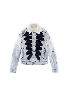 Giambattista Valli x H&M Pile-lined denim jacket