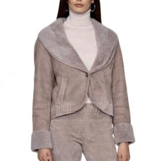 Ralph Lauren Black Label Shearling Jacket