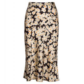 Realisation The Naomi Slip Skirt in Flower Power