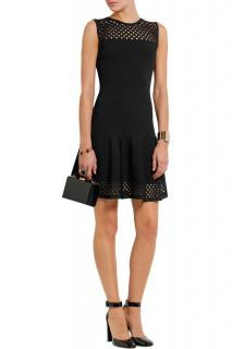 Fendi Black Cut-Out Mini Dress