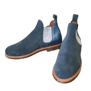 Penelope Chilvers Blue Safari Boots