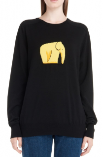 Loewe Jacquard Elephant Sweater