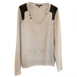 Gucci Beige Wool Jumper