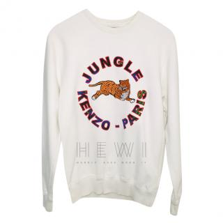Kenzo x H&M white tiger sweatshirt