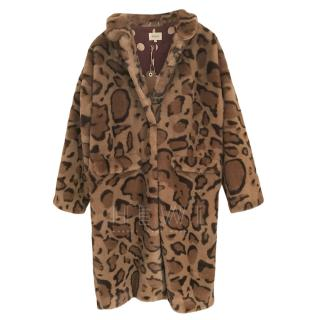 Bellerose Leopard Print Coat