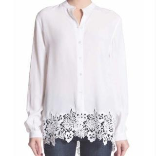 Equipment 'Henri' silk shirt