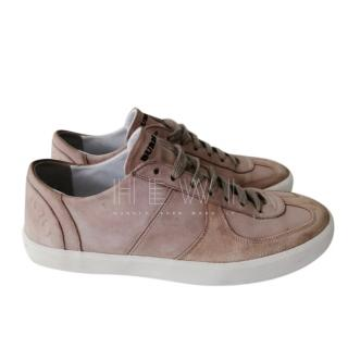 Burberry Brown Suede Sneakers