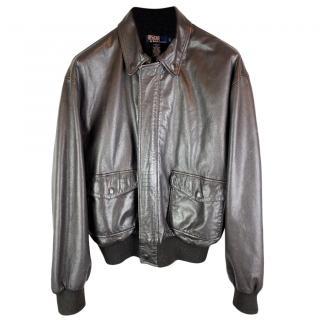 Polo Ralph Lauren A2 Flight Bomber jacket