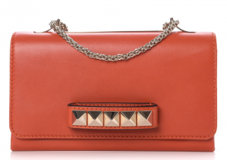 Valentino Orange Vavavoom Shoulder Bag