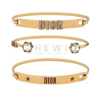 Dior Evolution set of bracelets