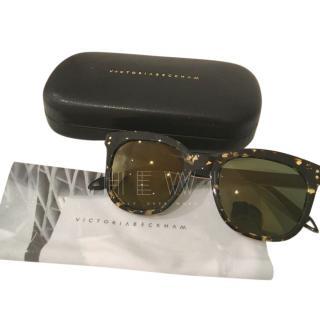 Victoria Beckham Tortoiseshell Sunglasses
