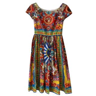 Dolce & Gabbana Sicily Print Dress