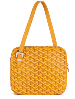 Goyard Yellow Chevron Yona MM