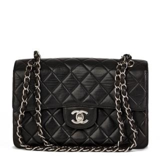 Chanel Vintage Black Double Sided Flap Bag