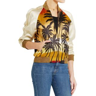 Saint Laurent SS16 Palm Tree Jacket