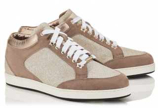 Jimmy Choo Miami Low Trainer - Platinum Ice