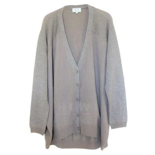 Notshy Taupe Cashmere Blend Cardigan