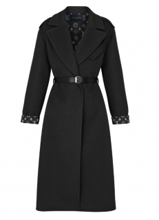 Louis Vuitton Double Cashmere Wrap Coat