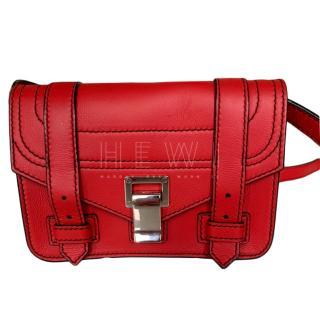 Proenza Schouler Red PS1 Mini Satchel