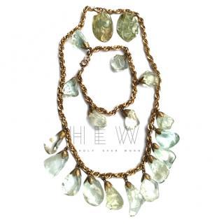 Bespoke Vintage Rock Crystal Jewellery Suite