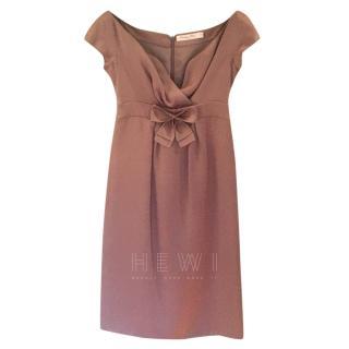 Dior A-Line Bow Detail Dress
