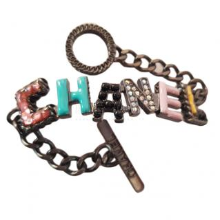 Chanel Cuba Collection Letter Charm Bracelet