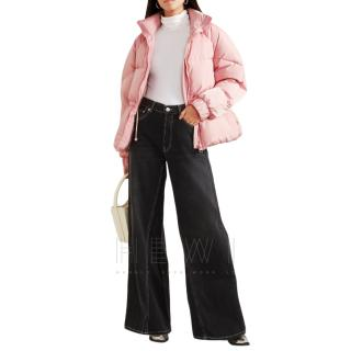 Ganni Pink Whitman Padded Shell-down Jacket