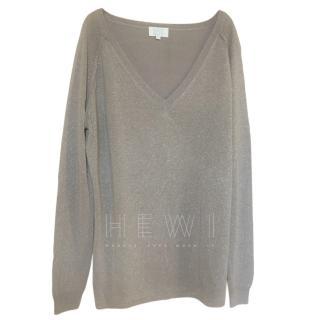 Notshy Grey Cashmere Blend Top