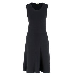A.L.C. Black Sleeveless Cut-Out Evening Dress