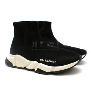 Balenciaga Speed Stretch Knit High-top Sneakers