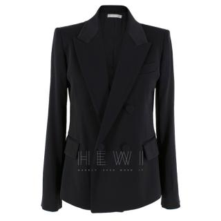 Vince Tailored Black Asymmetric Blazer