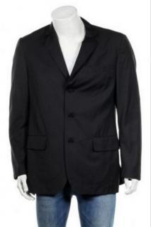 Ermenegildo Zegna Single Breasted Striped Suit Jacket