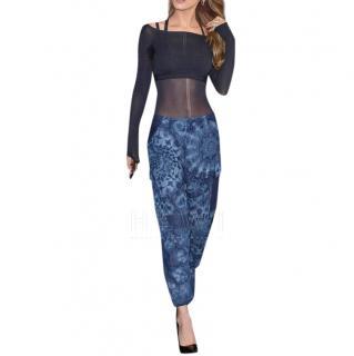 Dior kaleidoscope Blue Pants