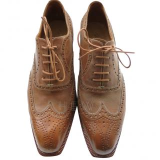 Silvano Lattanzi Light Tan Brogues