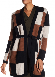Max Mara Oversize Tommy Patchwork Cardigan