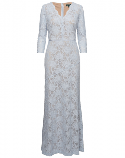 Lauren Ralph Lauren Ice Blue Lace Jerri Dress
