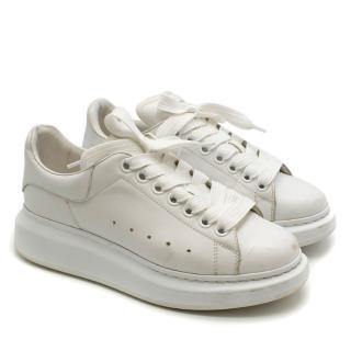 Alexander McQueen White Oversize Sneakers