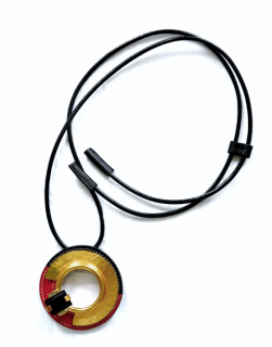 Marni Leather Corded Pendant Necklace