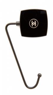 Chanel Black Handbag Table hook