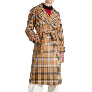 Burberry Vintage Check trench coat - New Season