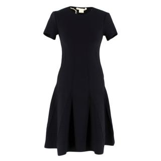 Antonio Berardi Black Fitted A-Line Dress