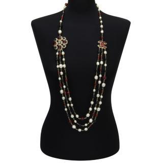 Chanel Metier d'Arts Paris-Byzance Collection Necklace