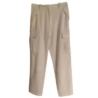 Missoni Cream Wool & Cashmere Pants