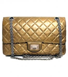 Chanel Metallic Gold Reissue 2.55 Bag