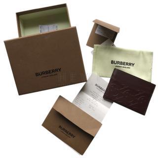 Burberry Sandon TB debossed monogram cardholder