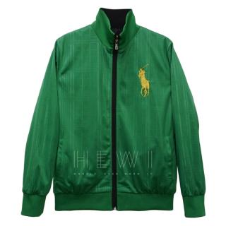 Polo Ralph Lauren Green & Black Reversible Bomber