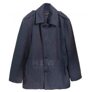 Michael Kors Grey Wool Blend Coat