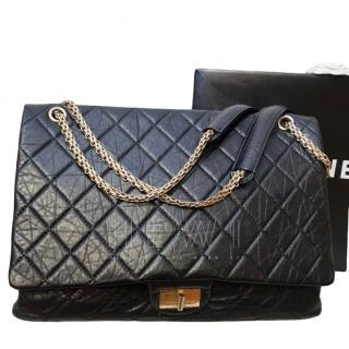 Chanel Black 2.55 Reissue 228 Bag