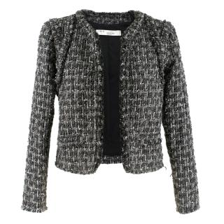 Iro Metallic Tweed Jacket