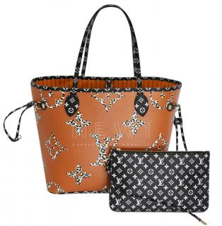 Louis Vuitton Neverfull Jungle MM Limited Edition tote bag
